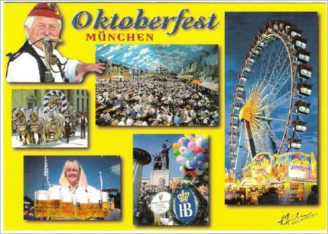 Gruß vom Oktoberfest